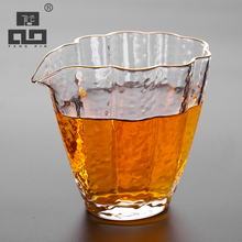 TANGPIN 2017 new arrival japanese heat-resistant glass teapot glass tea infuser accessories chahai teacup pitcher glass tea set(China)