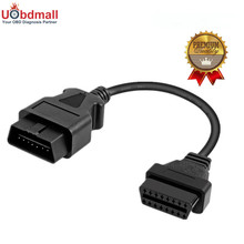 High Quality OBD2 16Pin Male to Female Extension Cable Transfer Connector 30cm OBD II Cable OBD 2 Adapter Diagnostic Connector