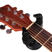 New Black Electro Guitar Wall Strap Holder Stand Rack Hook for Mounting All Size Accessories Set