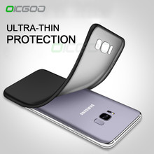 OICGOO Luxury Back Soft Matte Silicon Case For Samsung Galaxy S6 S7 Edge S8 Plus Phone Case For Samsung Note 8 J3 J5 J7 A3 A5 A7(China)