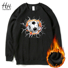 HanHent 3D Design Fashion Sweatshirts Man Fleece Autumn Winter Thick Round Collar Sportswear Clothes Funny Printed Hoodies Boys(China)