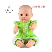 48cm doll 2018 new high quality brand fashion baby body manufacturer china fabric dolls girls toys love doll child size small(China)