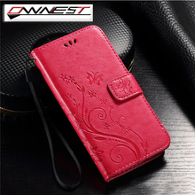 OWNEST Luxury Flip Wallet Card Slot Magnetic Stand Leather Butterfly Case For Apple iphone 5 5S SE 6 6S Plus 7 Plus Cover Shell