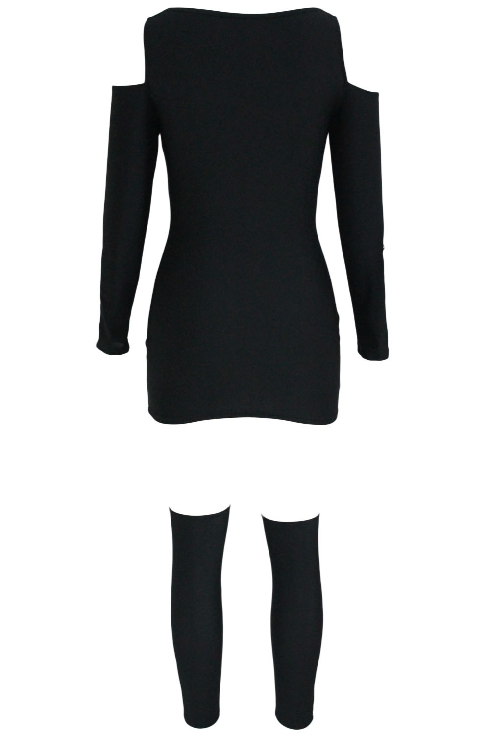 X-rayed-Halloween-Off-shoulder-Skeleton-Dress-Costume-LC89025-2-3