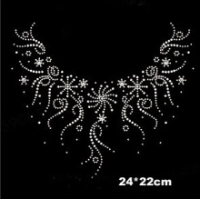 6pcs/Lot Fashion brand logo hotfix rhinestones, heat transfer design iron on motifs,rhinestone applique for sewing (ss-1999)