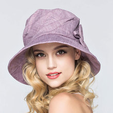 Free Shipping UV Hat Women Summer Fashion Foldable Sun Hat Cotton Large Brimmed Sunhat Female High Quality Cool Bucket Hat