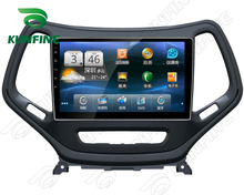 Quad Core 1024*600 Android 5.1 Car DVD GPS Navigation Player Deckless Car Stereo for Jeep Cherokee 2016 Radio Bluetooth