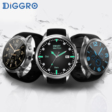 Diggro DI01 3G Smart Watch Android 5.1 MTK6580 1GB RAM 16GB ROM Bluetooth 4.0 Heart Rate Smart Wristwatch Phone For Android IOS(China)