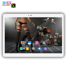 Free shipping 10 inch tablet PC Android 7.0 Phone call octa core RAM 4GB ROM 32/64GB 1280*1200 IPS Dual SIM Children's Tablet PC(China)