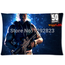 New Arrival 50 Cent Custom Zippered Comfortable Flannel Pillow case 20x30 (one side) PC-866(China)