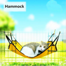 Cat Basking Window Hammock Perch Cushion Bed Hanging Shelf Seat pet Cat dog Bed Hammock Rest Cat House Soft Ferret Cage for dog(China)