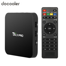 TX3 PRO TV BOX Android 6.0 Amlogic S905X Quad Core Set-top Box RAM 1G 8G Android TV Box HDMI H.265 2.4G WIFI Media Player