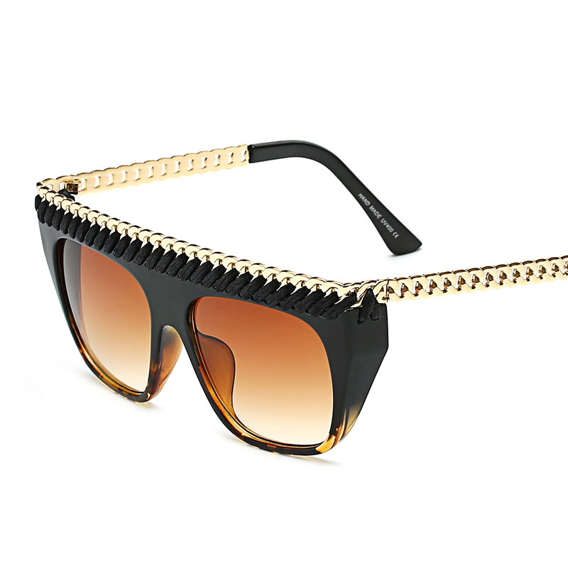 mimiyou Square Chain Eyewear&amp;Eyeglasses Cool Vintage Fashion Sun Glasse Brand Women Mem Sunglasses UV400 oculos de sol feminino<br><br>Aliexpress