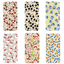100pcs/lot Transparent TPU Case For iPhone5s se 7 7plus 6 6S 6plus 6splus 8 Case Hello kitty Woody Buzz Stitch Phone bag case(China)