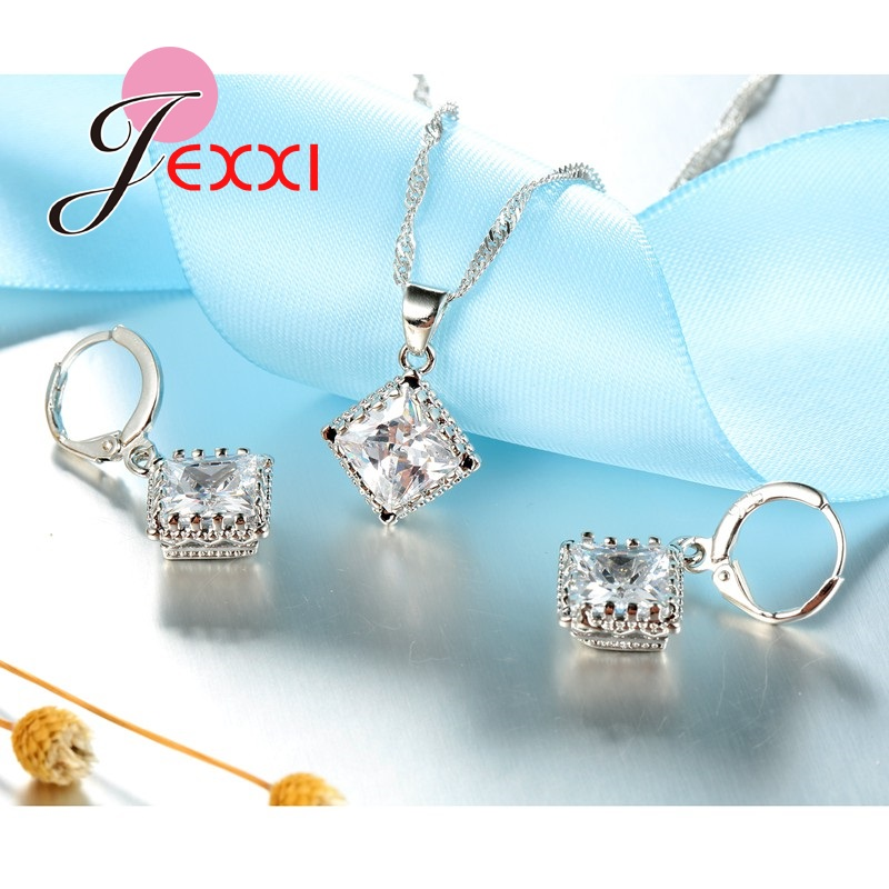 JEXXI-Luxury-Bridesmaid-Jewelry-European-Big-Square-Crystal-Necklace-Earrings-Set-Fashion-Silver-Women-Wedding-Accessories (4)