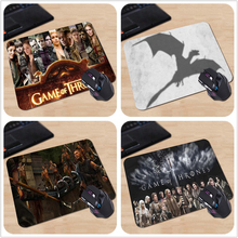 HBO TV Series Game of Thrones Season3 Figures Shadow Personalized Mouse Pad Cool Luxury Rubber Mouse Gaming Pad Best Gift