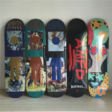 QUALITY GIRL pro Skateboarding Decks made byCanadian Maple Wood Shape Skateboard Green Girl Pattern Skate Board 8Types Available(China)