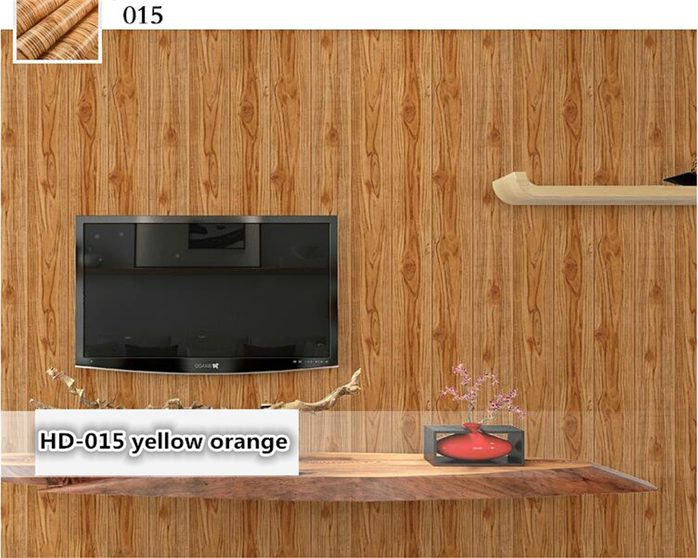beibehang 3D American style papel de parede wallpaper ceiling Chinese living room clothing store stereoscopic wood wall paper<br>