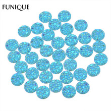 Mini AB Rhinestones Stars Resin Cabochon Cameo Flatback Embellishments Scrapbooking Accessories For DIY Crafts 9.5mm 100PCs