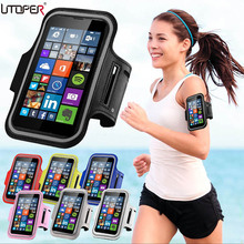 Running Sport Gym Armband Bag Case For Nokia Lumia 920/830/730/720/630 Waterproof Jogging Arm Band Mobile Phone Belt Cover