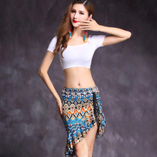 2017 Sexy Women Belly Dance Costumes 2Pcs (Modal Top+Milk Silk Skirt) Danza Del Vientre Gypsy Performance Indian Sari Dress