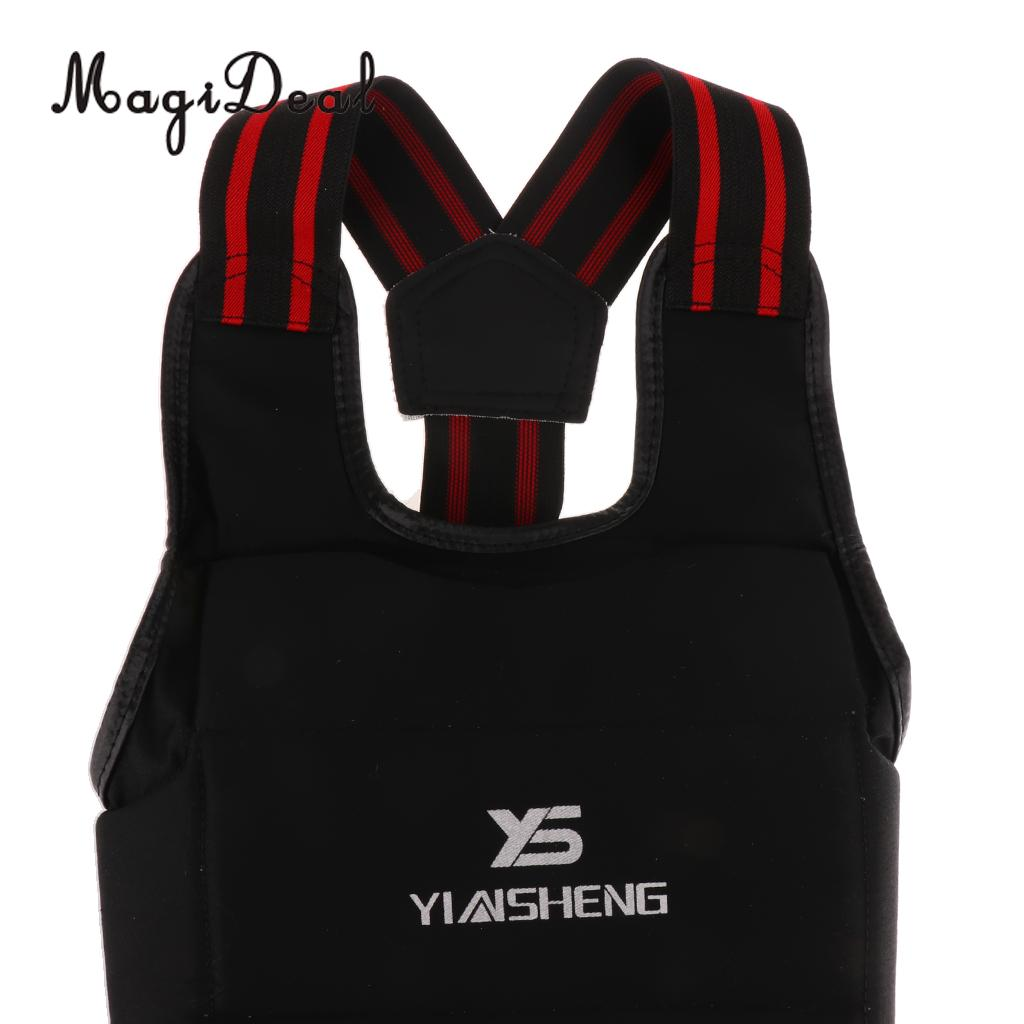 Martial Arts Boxing Protector Chest Rib Body Guard Sparring Gear Karate XL