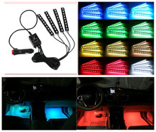 2017 NEW Car interior LED Neon Light decoration For BMW E36 E39 E46 E60 E90 E53 GT F10 F18 F20 F30 X3 X5 Car styling Accessories(China)