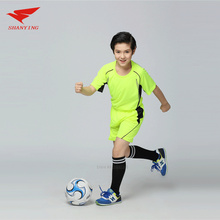 maillot de foot 2017 boys girls Soccer jersey survetement football 2017 Breathable Training Sets Sports Kits kids DIY Short Suit