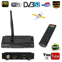 FREE SAT V7 HD DVB-S2 TV Receiver Digital Video Broadcasting Receiver Set Top Box USB PVR EPG Cccam for TV HDTV with USB WiFi(China)
