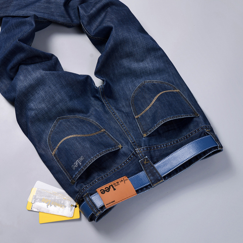 New 2017 famous brand men jeans men summer jeans straight slim thin young long man trousers  jeans for men denim pants Y405Одежда и ак�е��уары<br><br><br>Aliexpress