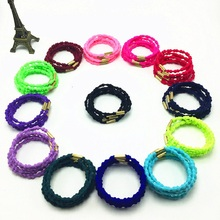 New Fashion Lovely Headwear Bamboo Band Hoop Colorful High Elastic Head Rope DIY for Women Girl Gift Hair Accessories Wholesale(China)