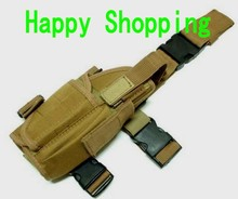 Tactical Drop Leg Pistol Holster Pouch Bag Right Hand free shipping(China)