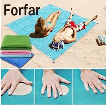 PVC Magic Sand Beach Mats Outdoor Camping Picnic Large Mattress Summer Beach Camping Sand Mat 200x150cm  Free Shipping
