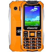 Original Vkworld V3S 2.4 Inch Quad Band Unlocked Phone SPRD6531 Camera BT FM Waterproof Shockproof Dust-proof Mobile Cellphone