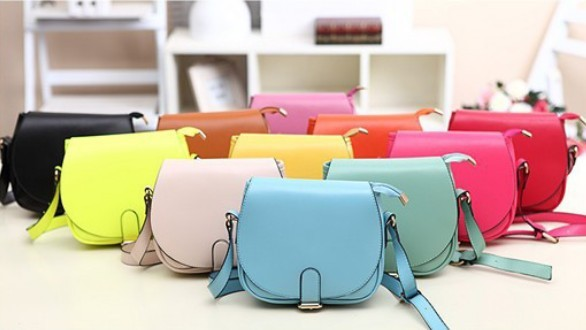 2016 New Candy Color Women Leather Handbags Korea Style Cute Women Messenger Bags Casual Lovely Shoulder Bags<br><br>Aliexpress