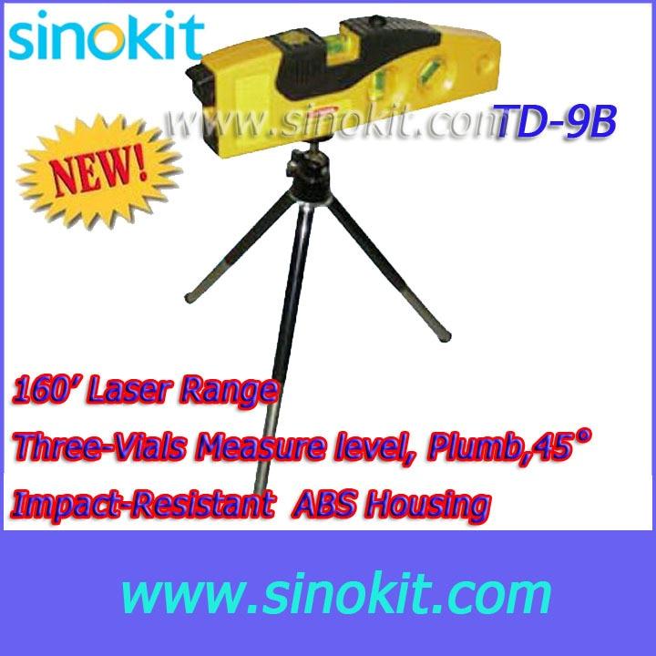 Three-Vials Measure level, Plumb,45 degree 160 meter  Laser Range Level Marker - TD9B<br><br>Aliexpress