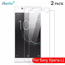 "2PCS For Sony Xperia L1 Tempered Glass 9H 2.5D Premium Screen Protector Film For Sony Xperia L1 L 1 G3311 G3312 G3313 5.5"" Glass"