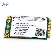 Intel Wireless WiFi link 4965AGN MM1Mini PCI-E 300Mbps 4965AGN_MM1 Laptop Wlan Card Network card(China)