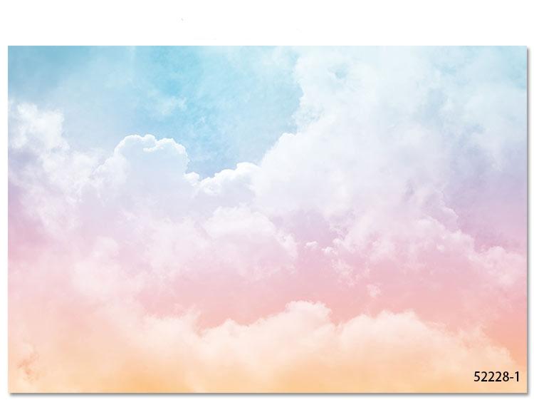 HTB1Ng8FfmMmBKNjSZTEq6ysKpXap - Pink Sky Cloud 3d Cartoon Wallpaper Murals for Girls Room