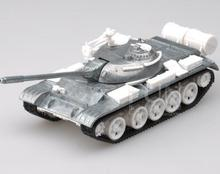Military Tractor T55 Alloy Tank Model Simulation Child Toy Car 59 Tank World Collection(China)