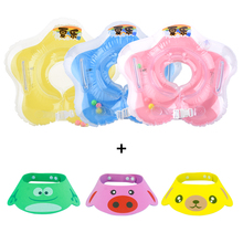Inflatable Circle baby neck float Ring Swimming pool accessories Inflatable swim Infant Safe Bath ring Wash accessories Circle(China)