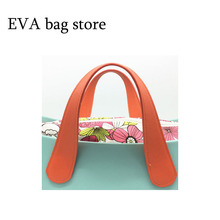 1 pair 2 pcs long size 65cm Handle for Obag women's bag accessories shoulder bag PU leather(China)
