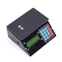 DIY Kit Electronic Scales 10kg 1g Black Shell Pressure Sensor Price Scale USB Electronic Clock(China)