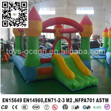 Inflatable Castle Bounce and Slide/ Mini inflatable bouncer/ Bounce House for kids(China)