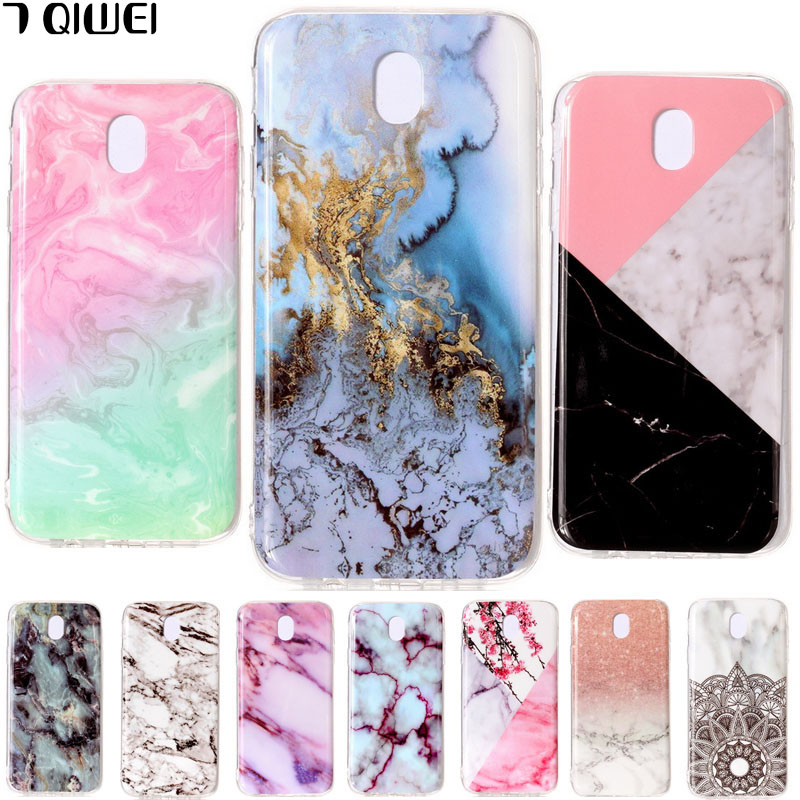 Samsung Galaxy J5 2017 Case Granite Marble Skin Soft TPU Clear Silicone Back Cover Samsung Galaxy J530 J5 Pro Phone Case