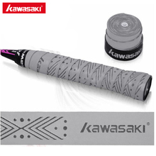 5Pcs Kawasaki Tennis Grips Overgrips Anti-skid Sweat tape Absorbed Wraps Badminton Racquet Grip Fishing Skidproof Sweat Band X5(China)