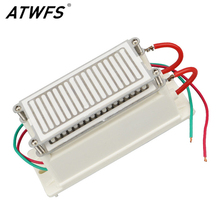 ATWFS New 20g Ozone Generator 220v Air Purifier Ozonizer Sterilizer Stainless Steel Electrode Damp-Proof Long Life Ozone Plate