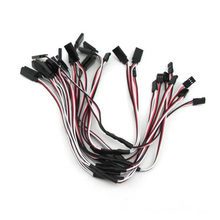 5Pcs 30CM Y Type Extended Line Y Extension Lead Wire Cable for Futaba JR Servo ESC rc quadcopter part
