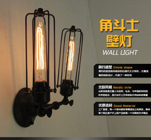 Nordic American Retro Light Vintage Style Loft Industrial Edison Hotel Cafe Bar Restaurant Wall Lamps Home Decoration Lighting