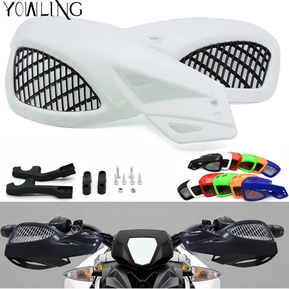 motorcycle brush bar hand guards handguard motorbike parts handle guards 7/8